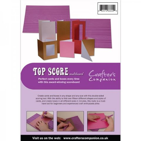 Crafters Companion Ultimate Pro Embossing Board - Top Score Multiboard